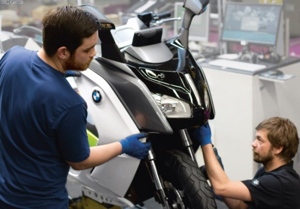 BMW C Evolution, скутер bmw,
